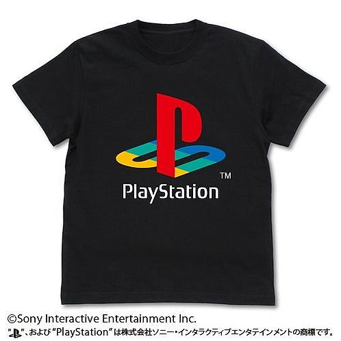 "PLAYSTATION: T-SHIRT VER.2 1ST ""PLAYSTATION"": BLACK - L"