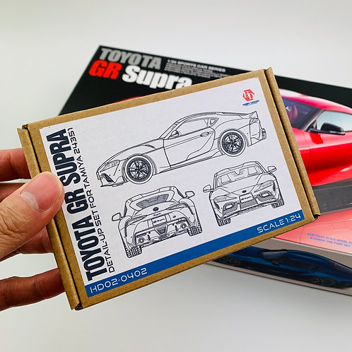 Combo: Tamiya Toyota GR Supra + HD Detail-Up Set