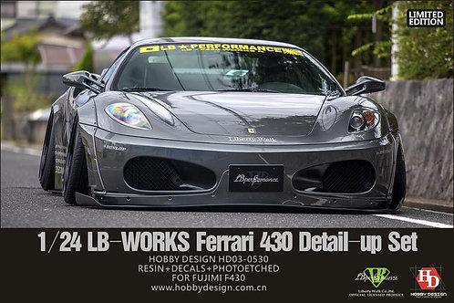 1/24 LB Works Ferrari 430 Detail-Up Set