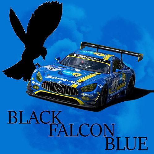 Black Falcon Blue