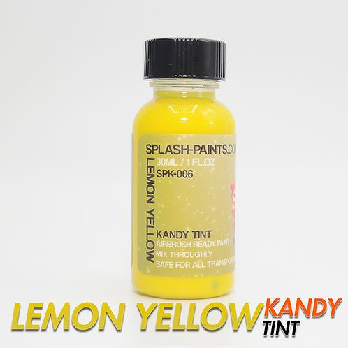 Lemon Yellow Kandy Tint