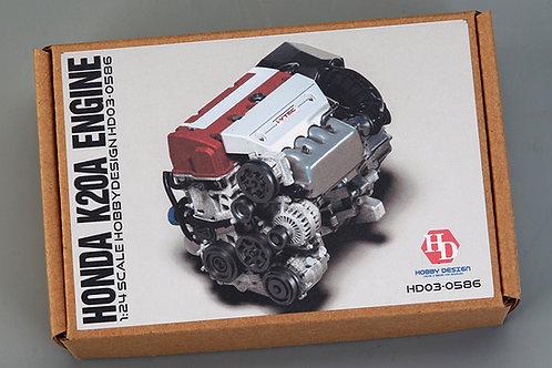 1/24 Honda K20A Engine