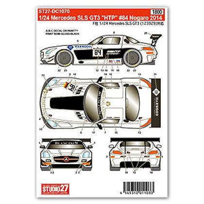"Mercedes SLS GT3 ""HTP"" #84 Nogaro 2014"