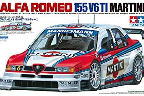 1/24 Tamiya Martini Alfa Romeo 155 V6Ti