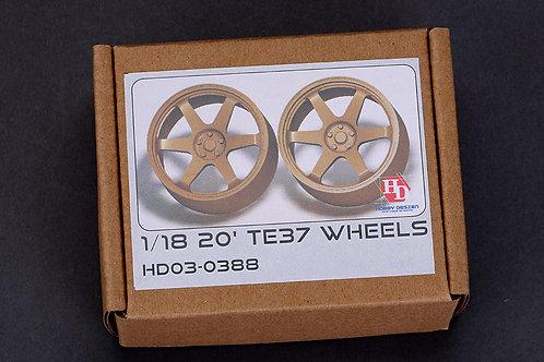 "1/18 20"" TE37 Wheels"