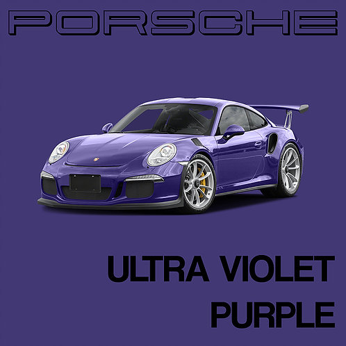 Porsche Ultra Violet Purple