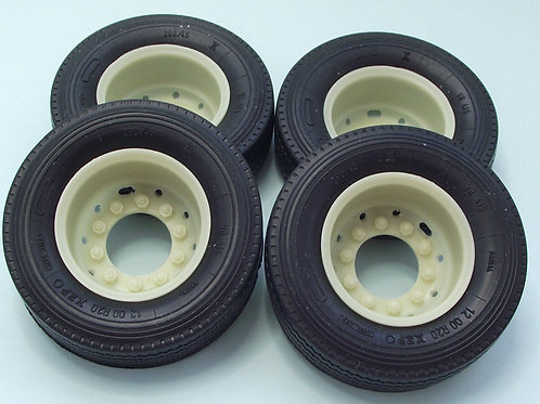 1/24 Split Rim Drive Wheels and tyres