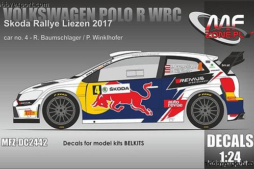 1/24 VOLKSWAGEN POLO R WRC BAUMSCHLAGER