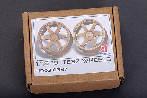 "1/18 19"" TE37 Wheels"