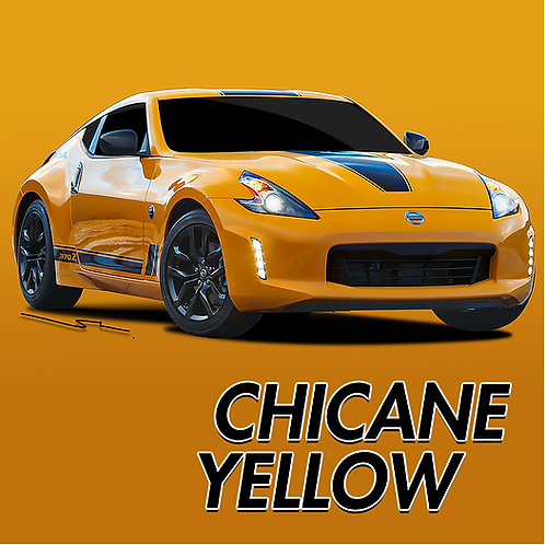 Nissan Chicane Yellow