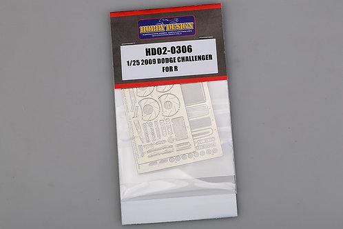 HD02-0306 1/25 2009 Dodge Challenger for Revell