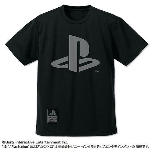 "PLAYSTATION: PLAYER DRY T-SHIRT ""PLAYSTATION"": BLACK - L"