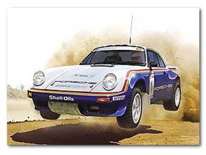 1/24 Porsche 911 SC/RS 1984 Oman Rally Winner