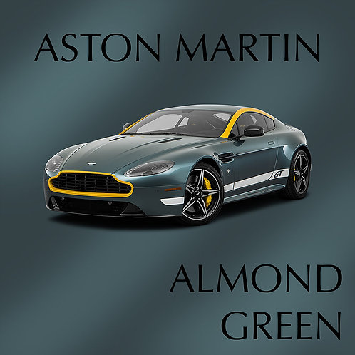 Aston Martin Almond Green
