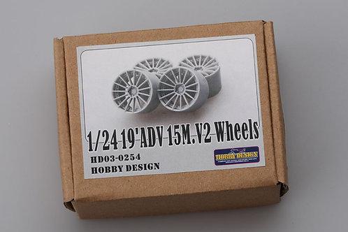 """1/24 19"""" ADV 15M V2 wheels"""