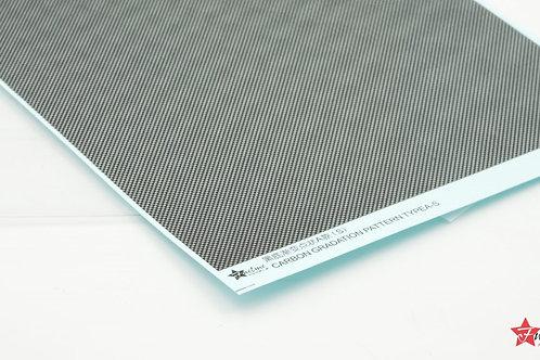 Carbon Fiber Decal Gradient Dot Type A Black Base (S)