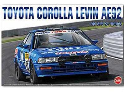 1/24 Nunu Toyota Corolla Levin AE92 SPA 24 Hours 1989