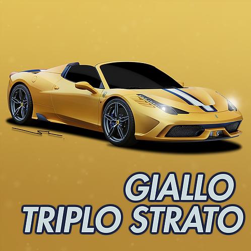 Ferrari Giallo Triplo Strato