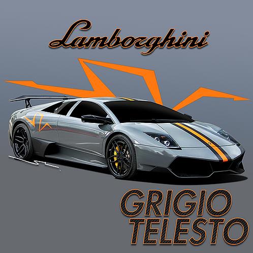 Lamborghini Grigio Telesto