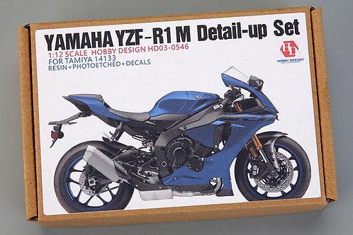 1/12 Yamaha YZF-R1 M Detail-up Set For Tomiya 14133(Resin+PE+Decals+Metal Logo+M
