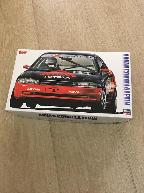 1/24 Hasegawa Toyota Advan Corolla Levin