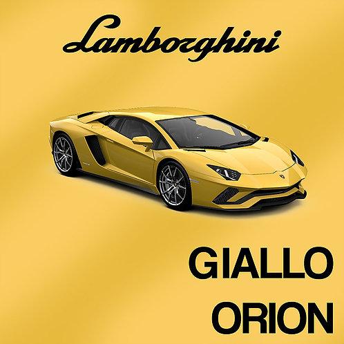 Lamborghini Giallo Orion