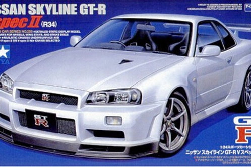 1/24 Tamiya Skyline GTR V-Spec II (R34)