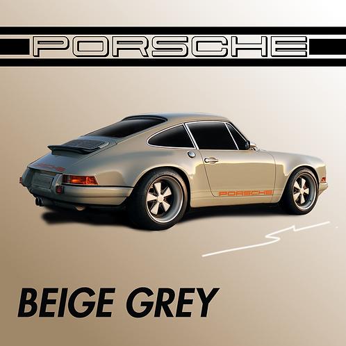 Porsche Beige Grey