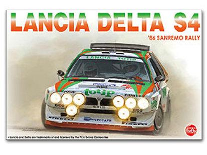 1/24 Lancia Delta S4 '86 Sanremo Rally