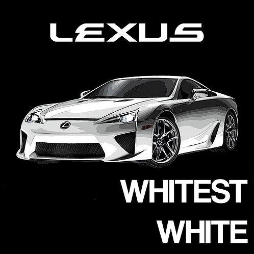 Lexus Whitest White