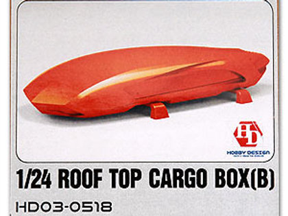 1/24 Rooftop Cargo Box B (Resin+Decals)