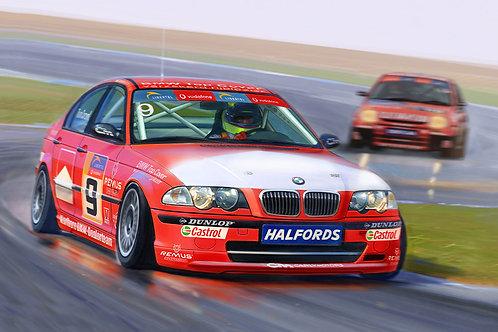 1/24 BMW 320i E46 DTCC 2001 Winner