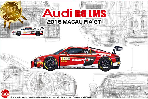 1/24 Audi R8 LMS 2015 Macau FIA GT