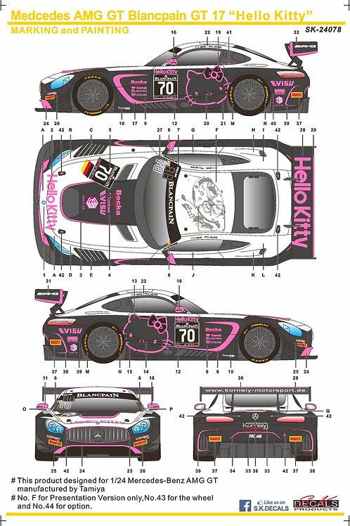 Mercedes-Benz AMG GT Hellokitty