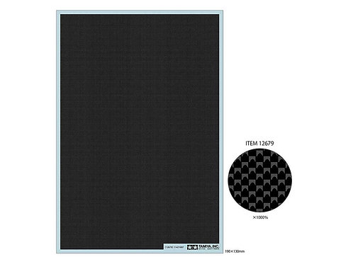 Carbon Pattern Decal (Plain Weave/Fine)
