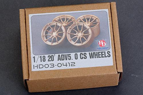 """1/18 20"""" ADV5.0 CS Wheels"""