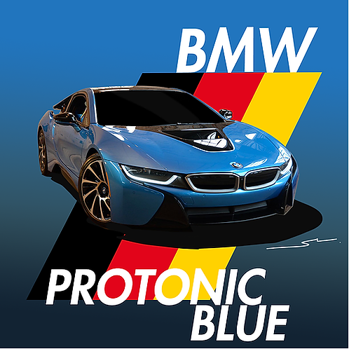 BMW Protonic Blue
