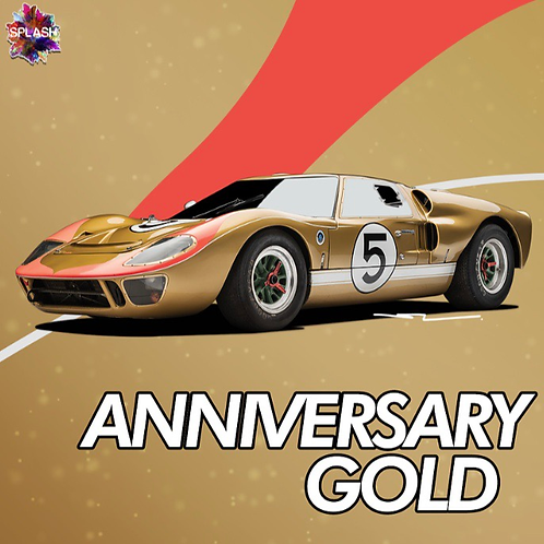 Ford Anniversary Gold