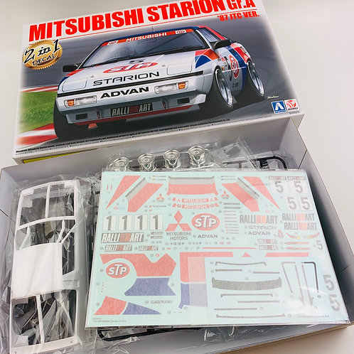 1/24 Mitsubishi Starion Gr.A 87 JTC / 88 Macau Guia Race