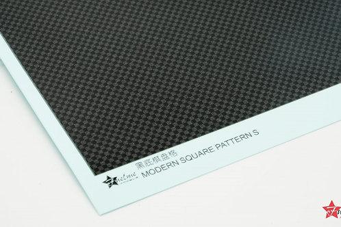 Carbon Fiber Decal Gradient Checker Black Base (A)