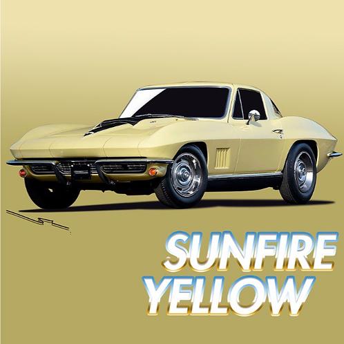 Corvette Sunfire Yellow