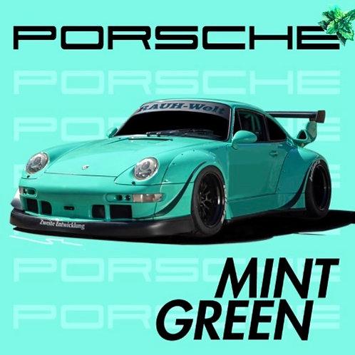 Porsche Mint Green