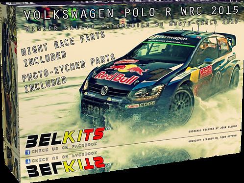 1/24 Belkits Volkswagen Polo R WRC - Montecarlo Rally - Rallye Automobile de Mon