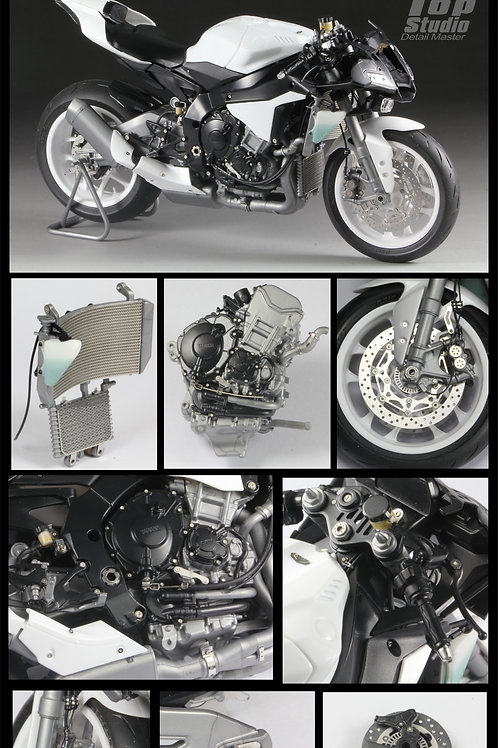 1/12 YZF-R1M Detail-up Set