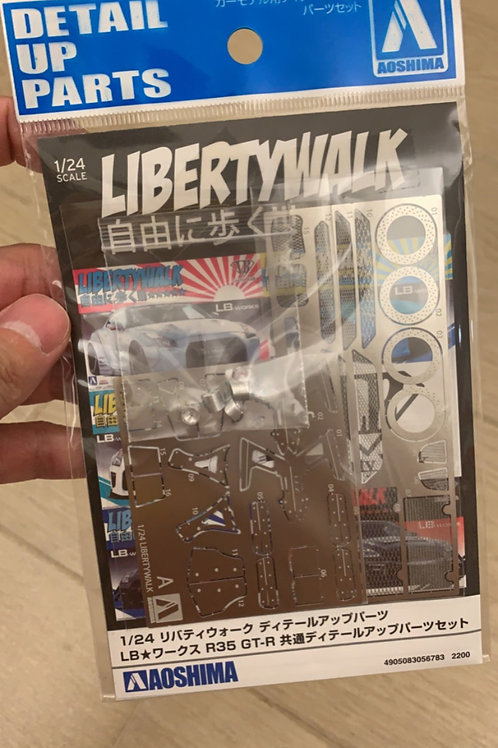 1/24 Liberty Walk Detail Up Parts LB Works R35 GT-R