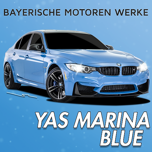 BMW Yas Marina Blue