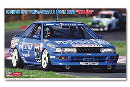 "FUJITSU TEN TOM'S COROLLA LEVIN AE92 ""1991 JTC"""