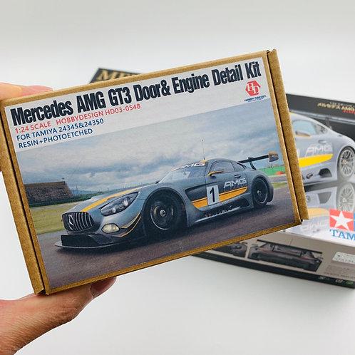 Combo: Tamiya AMG GT3 + HD Detail Kit