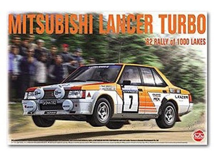 1/24 Mitsubishi Lancer Turbo 1982 1000 Lakes Rally