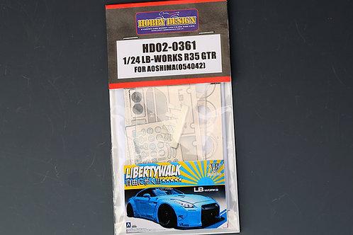 HD02-0361 LB-Works R35 GTR for Aoshima